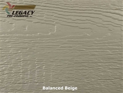LP SmartSide, Engineered Wood Cedar Texture Lap Siding - Balanced Beige