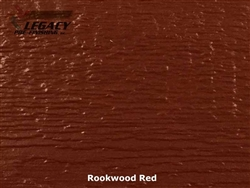 LP SmartSide, Engineered Wood Cedar Texture Lap Siding - Rookwood Red