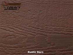 LP SmartSide, Engineered Wood Cedar Texture Lap Siding - Rustic Barn Stain