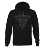 "The Flatliners ""Wolf Head"" Pullover"