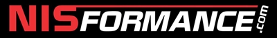 "NISformance.com Window Decal 6""x3/4"" (Red/White)"