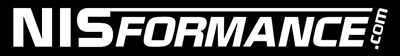 "NISformance.com Window Decal 6""x3/4"" (White)"