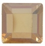 4mm Flatback Square HOTFIX Golden Shadow