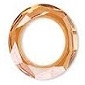 30mm Round Cosmic Ring Crystal Copper