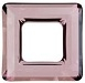 14mm Square Cosmic Ring Antique Pink