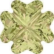 Swarovski 8mm Clover Bead Luminous Green
