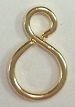 Base Metal Figure 8 Jump Ring