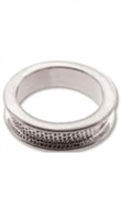 Channel Bezel Ring-THICK