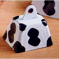 "1"" Cow pattern Cow Bell"
