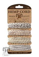 Hemptique Hemp Cord Set - 20# Test - Metallic Vintage