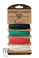 Hemptique Hemp Cord Set - 20# Test - Primary