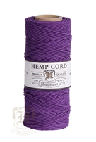 Hemptique Hemp Spool - 20# Test - Dark Purple
