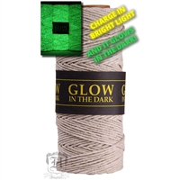 Hemptique Hemp Spool - 20# Test - Natural Glow in the Dark