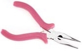 Darice Serrated Long Nose Plier W/Side Cutter