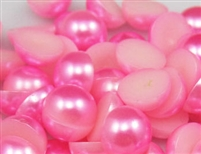 5mm Acrylic Flat Back Pearl Cabachon - Colors