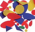 Pre-Cut Shapes- Primary Colors #1192-02