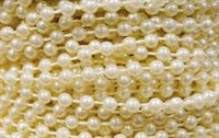 Fused String Pearls - 3mm Ivory