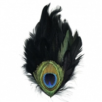Black Schlappen Pad with Peacock Eye