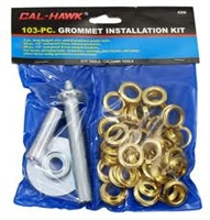 Hawk 103 Piece Grommet Set with Setter