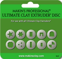 Makins Ultimate Clay Extruder Disc Set D