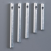 Silver Wind Chime- Assorted Sizes-4mm diameter