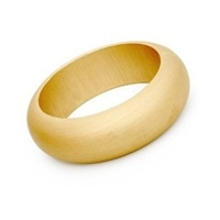 Unfinished Wood Bangle Bracelet