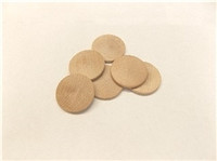 Unfinished Wooden Nickles