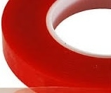 "Red Liner Double Sided Tape - 6"" x 15'"