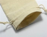 "Muslin Cotton Pouch - 3"" x 4"""