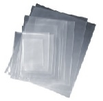 Open Top Poly Bags - Flat