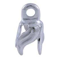 4 Prong Twisted Leaf Bell Cap - 3/8""
