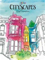 JUST FOR LAUGHS COLORING BOOK - CITYSCAPES