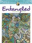 Entangled Coloring Book - Creative Haven, Artwork by Dr Angela Porter