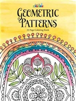 JUST FOR LAUGHS COLORING BOOK - GEOMETRIC PATTERNS