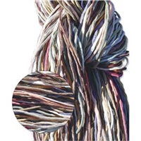 Hand Dyed Silk Strands - Muted