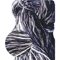Hand Dyed Silk Strands - Grays & Blacks