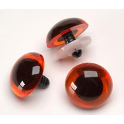 Animal Eyes with Plastic Washers 20mm