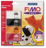 Fimo Soft Clay Kit - Pets