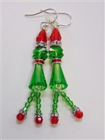 Swarovski Grinch Earring Kit