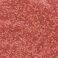 DB070 Lined Rose Pink AB - Miyuki Delica Seed Beads - 11/0