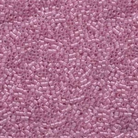 DB072 Lined Pale Lilac AB - Miyuki Delica Seed Beads - 11/0