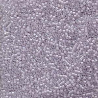 DB080 Lined Pale Lavender AB - Miyuki Delica Seed Beads - 11/0
