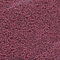 DB1376 Dyed Opaque Wine - Miyuki Delica Seed Beads - 11/0