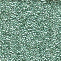 DB414 Galvanized Green Dyed- Miyuki Delica Seed Beads - 11/0