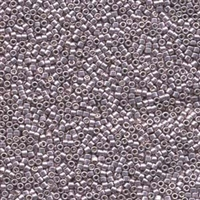 DB429 Galvanized Pale Lavender Dyed - Miyuki Delica Seed Beads - 11/0