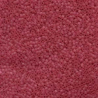 DB778 Dyed Matte Transparent Cranberry - Miyuki Delica Seed Beads - 11/0