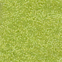 DB860 Matte Chartreuse  AB - Miyuki Delica Seed Beads - 11/0