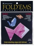 Yasutomo Fold'Ems Origami Paper - The Wave Assortment # 4320