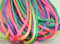 2 mm Rattail Craft Cord - Variegated Colors
