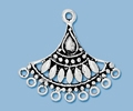 Sterling Silver Chandelier Pendant - Style 9